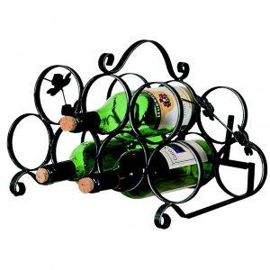 Viinipullotelineet