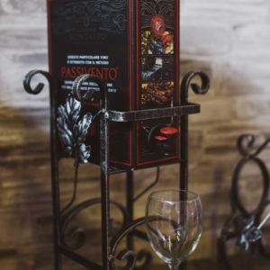 viinilaatikkoteline